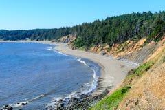 Ao longo da estrada da costa de Oregon imagens de stock royalty free