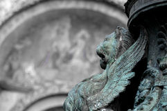 Ao longo da praça San Marco, Veneza Fotos de Stock Royalty Free