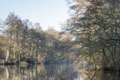 Ao longo do rio Derwent Imagens de Stock Royalty Free