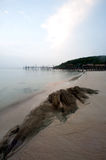 Ao Lungdam beach at samet island in Thailand. Stock Image