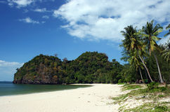 Ao Malea strand Royalty-vrije Stock Fotografie