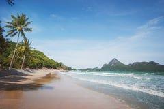 Ao Manao海滩,泰国 免版税库存照片