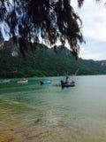 Ao Manao. By the beach in Prajuabkirikan stock photo