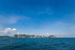 AO Nang από τη θάλασσα Στοκ εικόνα με δικαίωμα ελεύθερης χρήσης