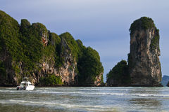 Ao Nang bay, Thailand Royalty Free Stock Image