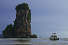 Ao Nang bay, Thailand Royalty Free Stock Photo