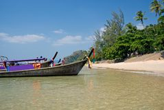 Ao Nang beach. Krabi province, Thailand Royalty Free Stock Photo