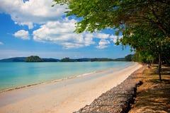 Ao Nang beach. Beautiful tropical beach in Ao Nang, Krabi, Thailand Royalty Free Stock Image