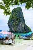 Ao Nang beach stock images