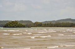 Ao nang beach in Krabi Thailand. Ao nang beach in krabi Royalty Free Stock Photos