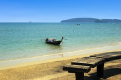 Ao Nang beach in Krabi, Thailand Royalty Free Stock Photo