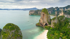 Ao Nang beach Thailand Royalty Free Stock Photo