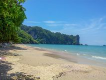 Ao Nang Beach Thailand. Ao Nang is a central point of the coastal province of Krabi Thailand Stock Image