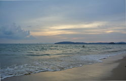 Ao Nang Beach in Thailand Stock Images