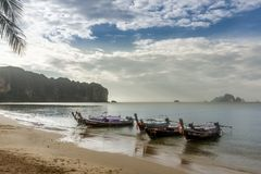 AO Nang, Krabi, Ταϊλάνδη Στοκ εικόνα με δικαίωμα ελεύθερης χρήσης