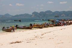 AO Nang, Krabi, Ταϊλάνδη Στοκ Φωτογραφίες
