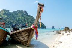 AO Nang Krabi, τον Ιανουάριο του 2016 της Ταϊλάνδης Στοκ Φωτογραφίες