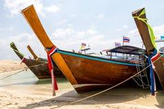 AO Nang Krabi, τον Ιανουάριο του 2016 της Ταϊλάνδης Στοκ εικόνες με δικαίωμα ελεύθερης χρήσης
