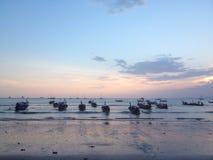 Ao Nang海滩Krabi 图库摄影