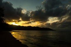 Ao Nang, Krabi landskap Royaltyfria Bilder