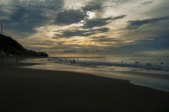 Ao Nang, Krabi landskap Royaltyfri Foto