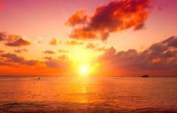 Ao Nang, Krabi-provincie Paradijsscène van Caraïbisch eiland stock afbeelding