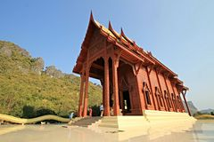 Ao noi temple. To believe in mind Stock Images