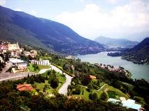 Ao norte de Itália foto de stock