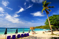 Ao nual, Lan Island, Pattaya Stock Image