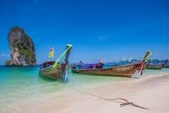 The stunning Ao Phra Nang Beach, Thailand stock photos