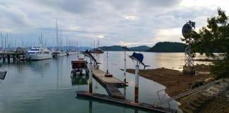 Ao Po Grand Marina Phuket Stock Image