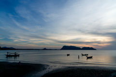 AO Prachuap, επαρχία Prachuap Khiri Khan στη νότια Ταϊλάνδη Στοκ φωτογραφίες με δικαίωμα ελεύθερης χρήσης