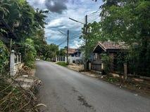 Ao residencial Nang, Krabi Tailândia fotografia de stock royalty free