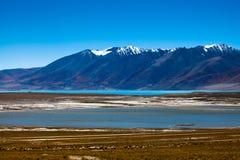 Ao sul do lago Tangra Yumco Imagens de Stock Royalty Free