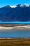 Ao sul do lago Tangra Yumco Fotos de Stock
