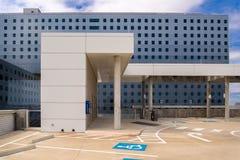 19 août 2015 - Dallas, le Texas, Etats-Unis La nouvelle addition à Parkl Photo libre de droits