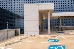 19 août 2015 - Dallas, le Texas, Etats-Unis La nouvelle addition à Parkl Photographie stock libre de droits