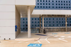 19 août 2015 - Dallas, le Texas, Etats-Unis La nouvelle addition à Parkl Images stock