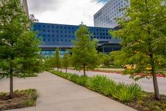 19 août 2015 - Dallas, le Texas, Etats-Unis La nouvelle addition à Parkl Photo stock