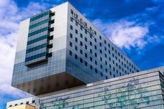 19 août 2015 - Dallas, le Texas, Etats-Unis La nouvelle addition à Parkl Image libre de droits