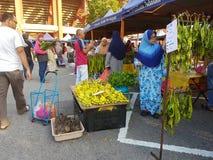 14 août 2016, le marché de l'agriculteur Photographie stock