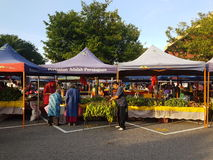 14 août 2016, le marché de l'agriculteur Photos libres de droits