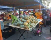 14 août 2016, le marché de l'agriculteur Images stock