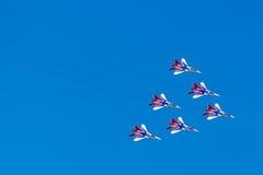 6 août 2016 Riazan, Russie Les avions d'air militaire Images stock