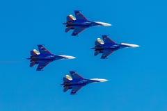 6 août 2016 Riazan, Russie Les avions d'air militaire Photographie stock