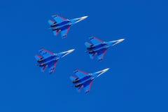 6 août 2016 Riazan, Russie Les avions d'air militaire Photographie stock libre de droits