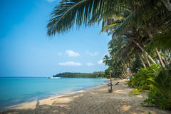 Ao Tapao tropical beach, Ko Kut island, Thailand. Image of Ao Tapao tropical beach, Ko Kut island, Thailand Royalty Free Stock Photos