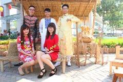 Ao vietnamita dai Imagen de archivo