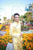 Ao vietnamita dai Foto de archivo libre de regalías
