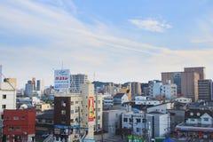 aof Хиросима Япония scape города Стоковые Изображения
